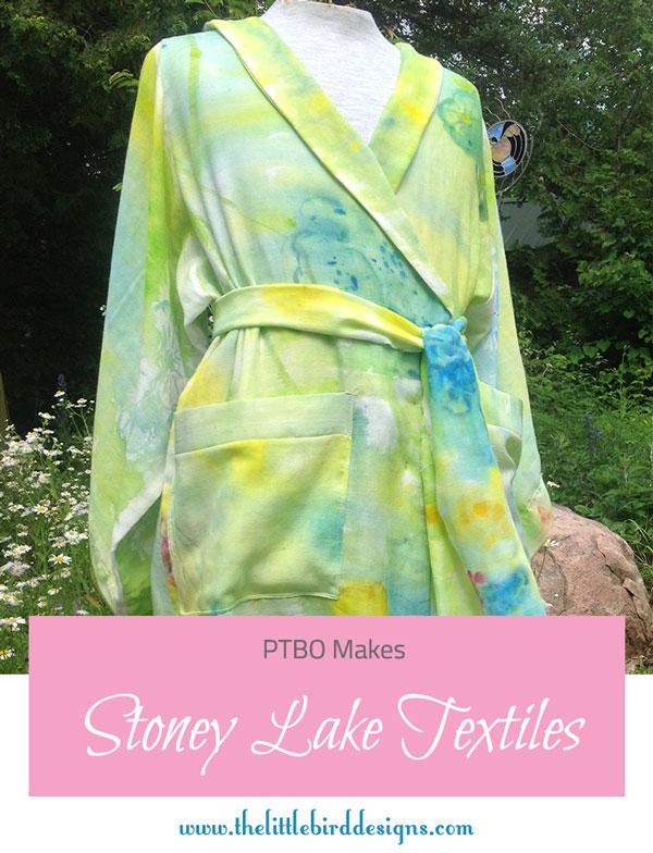 PTBO Makes - Stoney Lake Textiles- The Little Bird Designs