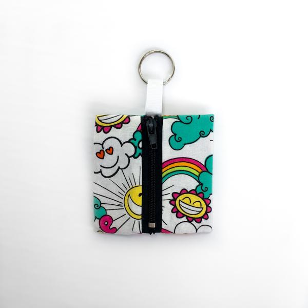 Monkey Keychain Pouch - The Little Bird Designs