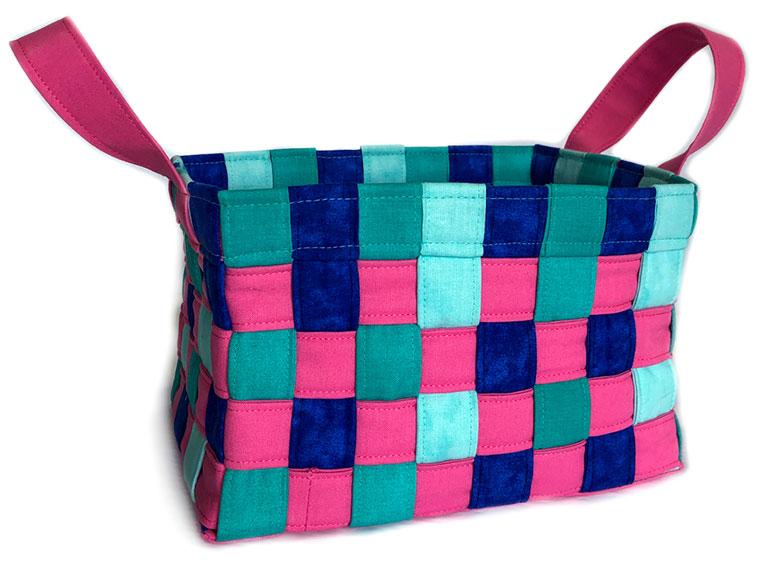 Little Woven Basket - The Little Bird Designs feature